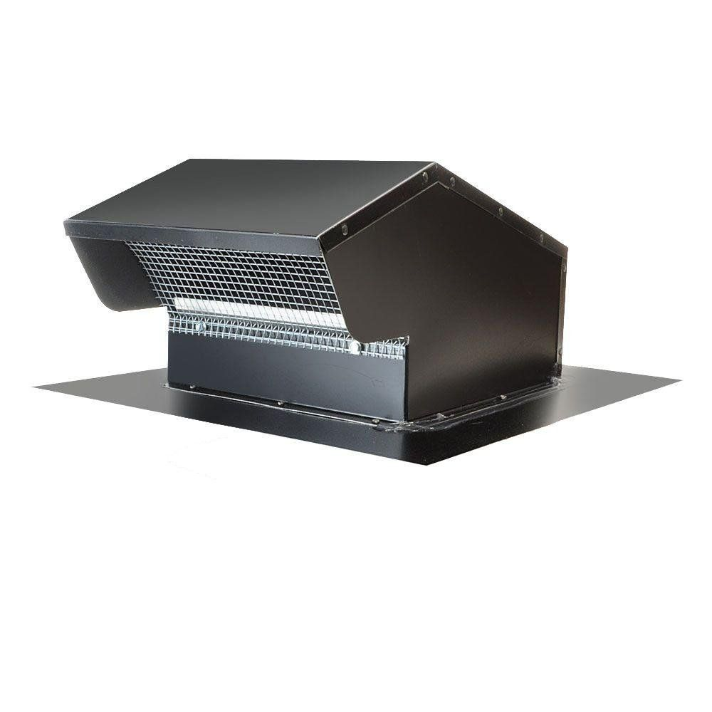 Master Flow 10 In Goose Neck Vent Roof Cap In Black Find Out More About The Great Product At The Image Link Roof Cap Roof Bath Fans