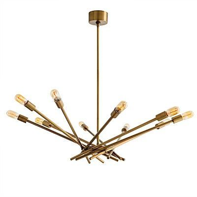Buy webster chandelier by arteriors made to order designer chandeliers from dering halls collection of contemporary mid century modern lighting