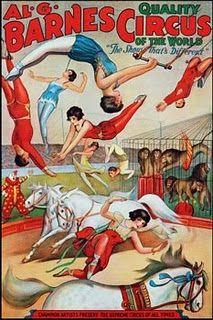 vintage poster Circus