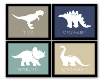 Image Result For Cool Modern Little Boys Room Decor Dinosaurs