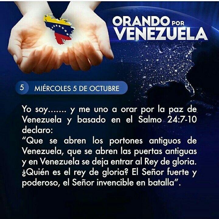 Orando por Venezuela día 5