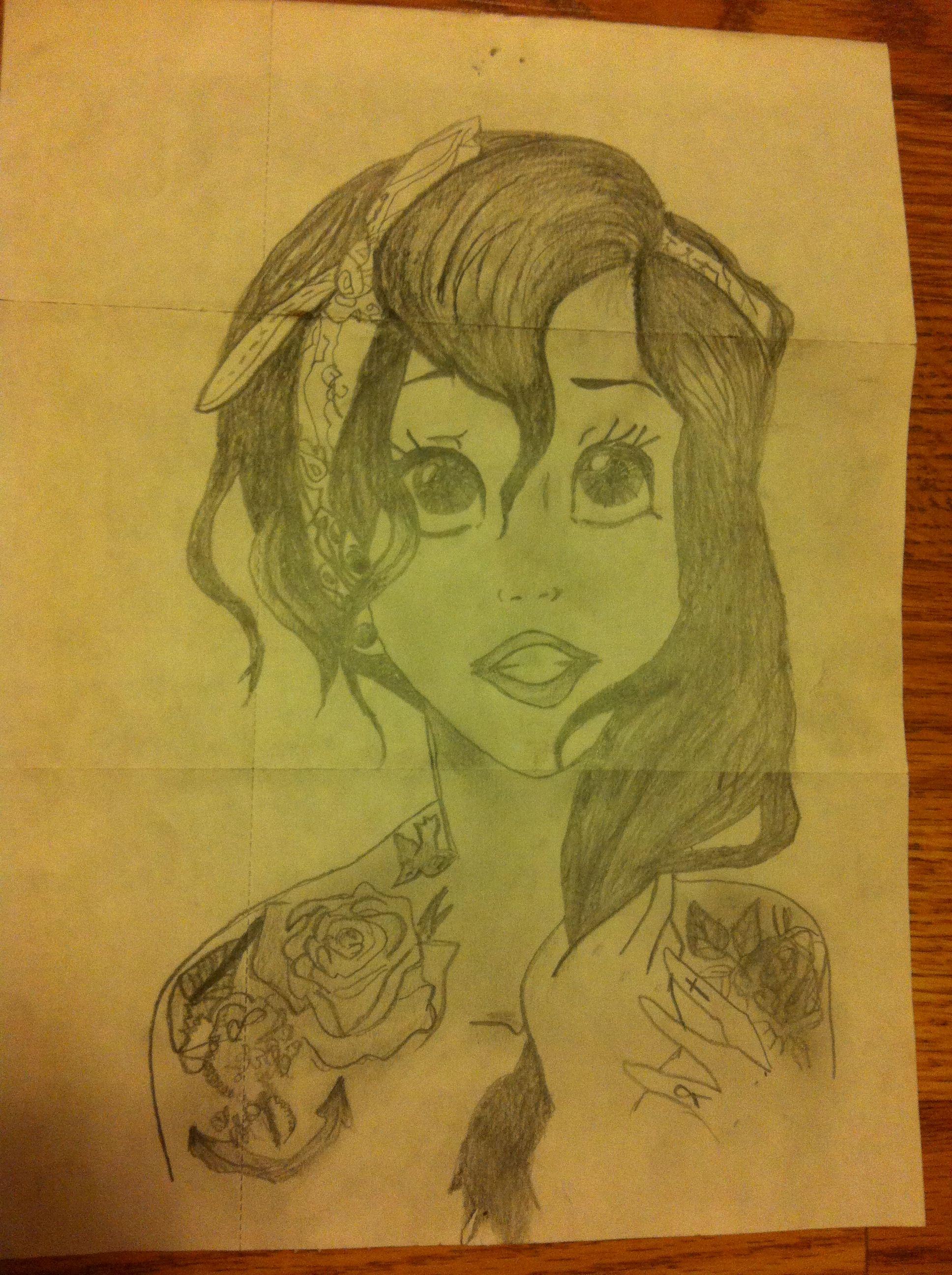 Punk Ariel doodle