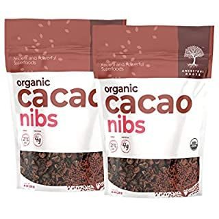 Amazon Com Now Foods Organic Raw Cacao Nibs Rich Pure Cacao Bean Bits Dark Chocolate Flavor Certified Non G Raw Cacao Nibs Cacao Beans Chocolate Flavors