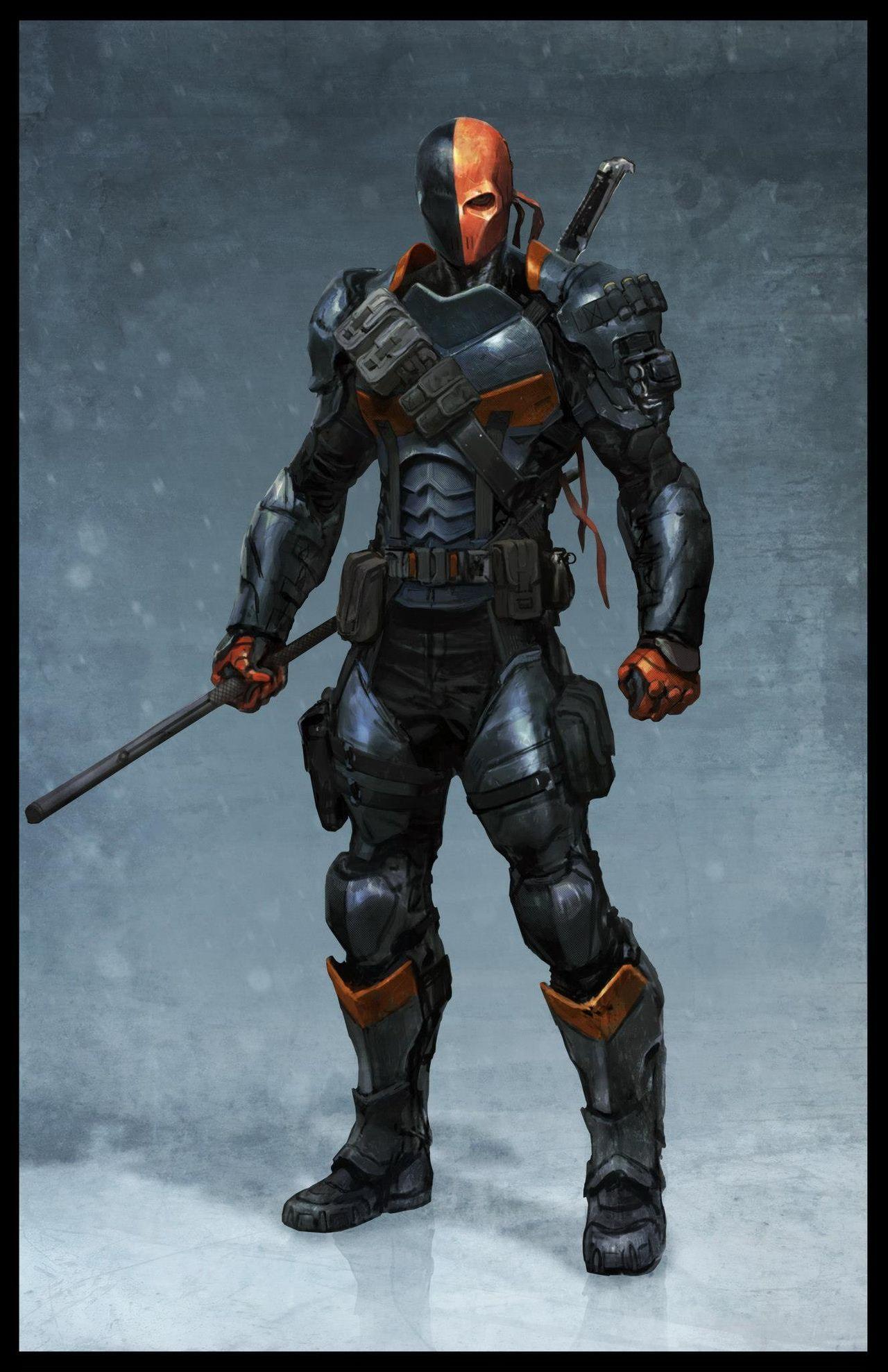 Deathstroke design for Batman: Arkham Origins | battle ...