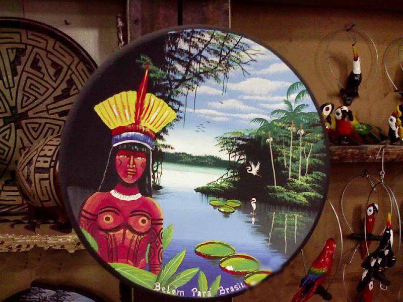 Aparador Grande Para Tv ~ Prato de Ceramica Pintado A cer u00e2mica Marajoaraé uma das marcas do artesanato do estado do