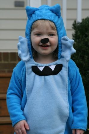 Homemade Toodee Costume - this is what Piper keeps saying over & over again she wants to be for Halloween - hope I can do it!