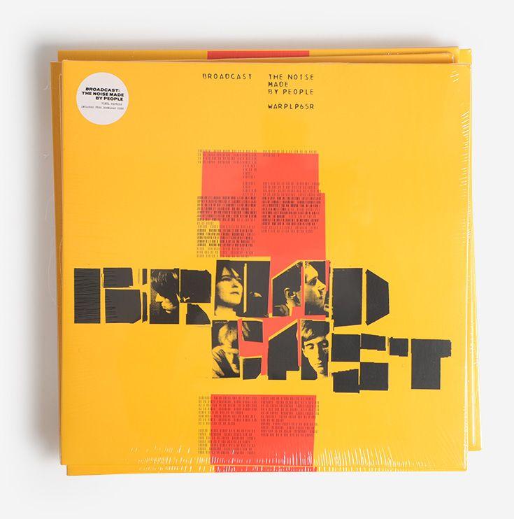 Broadcast Vinyl Reissues And Bonus Booklet Album Cover Design Design Ghost Box