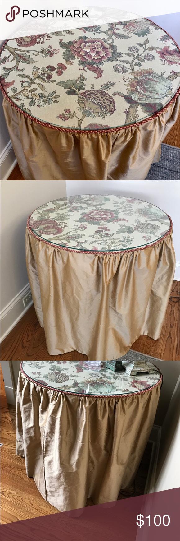 Photo of Kundenspezifischer Seidenrock für 30-Zoll-Tisch Kundenspezifischer Stoffrock für einen 30-Zoll-Tisch. …