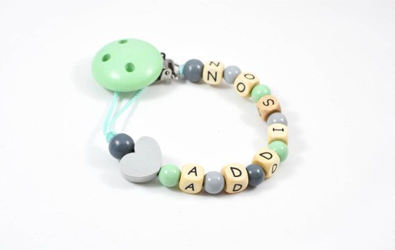 Personalized pacifier clip pacifier chain pacifier holder personalized pacifier clip pacifier chain pacifier holder wooden pacifier chain beaded pacifier chain personalized baby gift negle Image collections