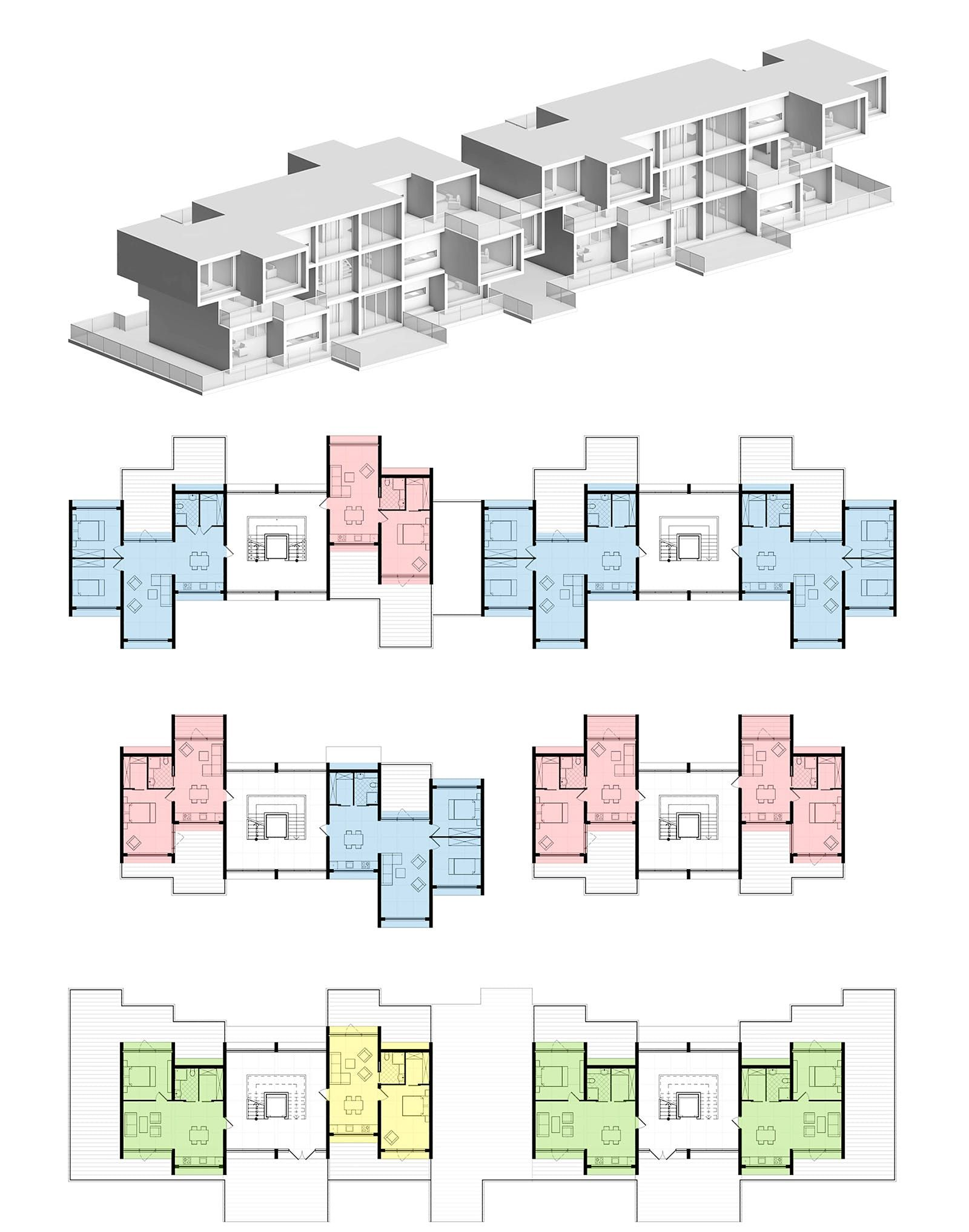 The Winning Results Of The Sydney Affordable Housing Challenge Social Housing Architecture Residential Architecture Plan Residential Architecture Apartment