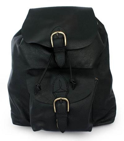 Novica Leather backpack, Love for Travel