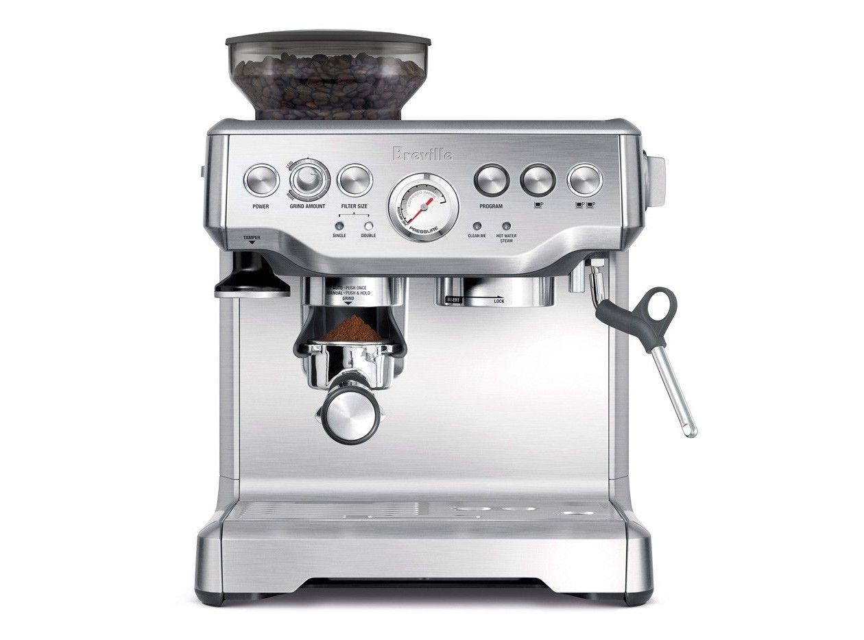 Breville Bes870xl Barista Express Best Home Espresso Machine Breville Espresso Machine Home Espresso Machine
