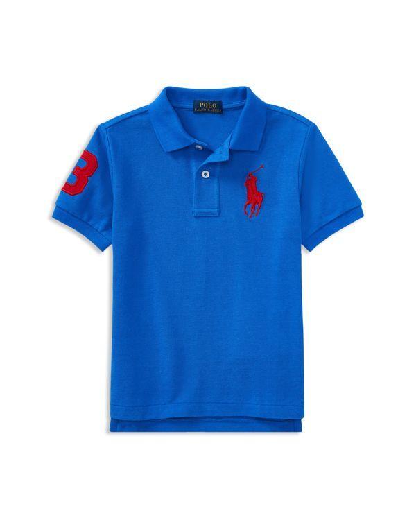 Ralph Lauren Childrenswear Boys' Big Pony Polo - Little Kid