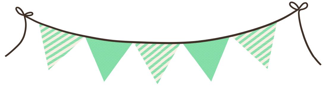 Guirnalda | Banderitas decorativas, Bandera para colorear