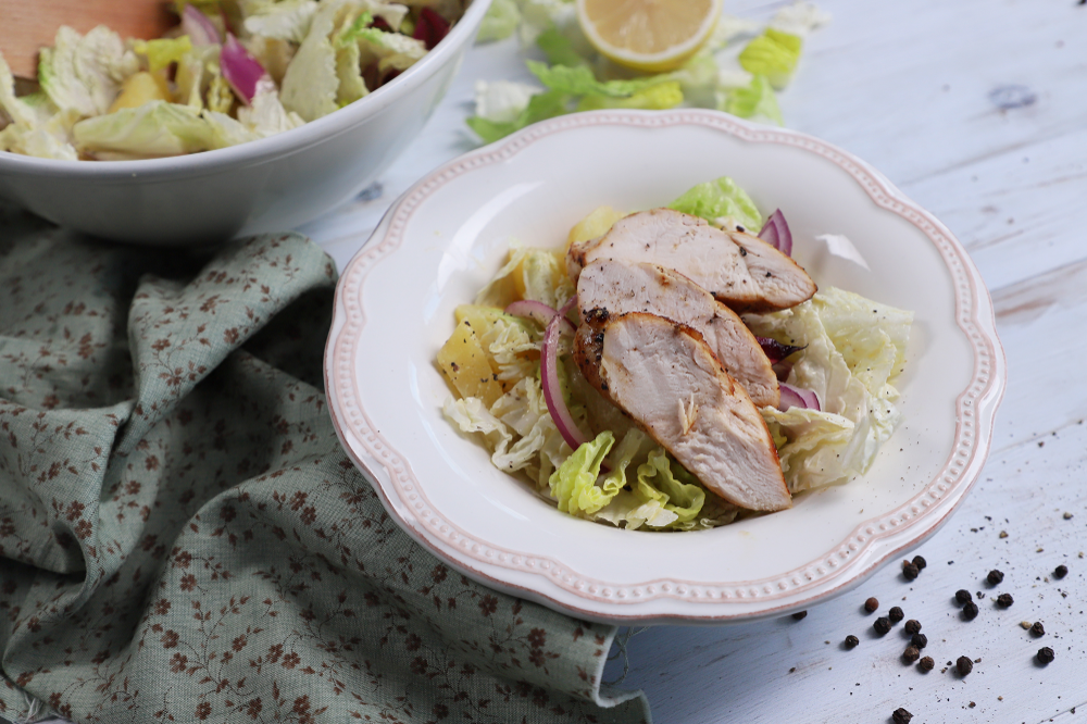 Kínaikel-saláta csirkemellel - Recipe - Recept, Ételek..