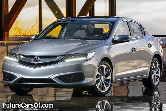 2016 Acura ILX front view