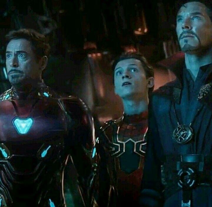 Tony Stark Spiderman and Doctor Strange   Marvel   Marvel ...