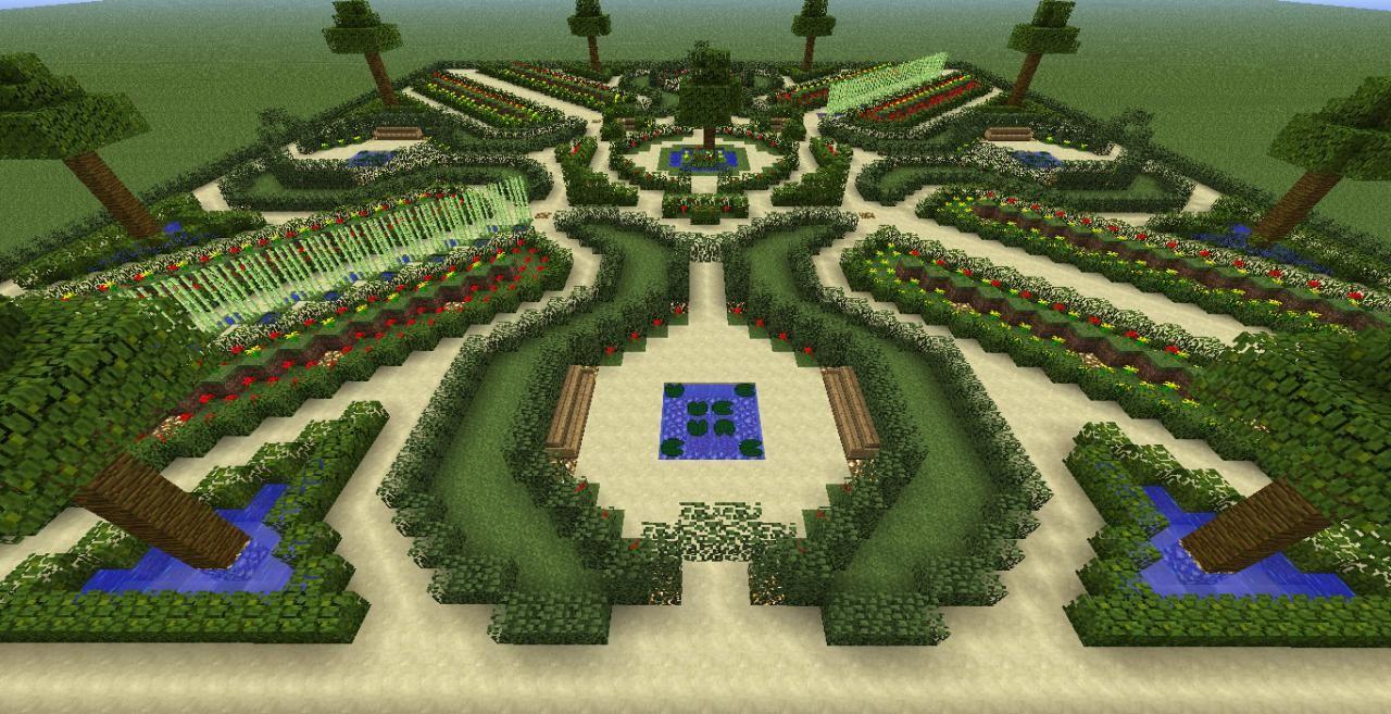 jardin-nenuphar.jpg (1280×657) | Minecraft - inspiration jardin ...