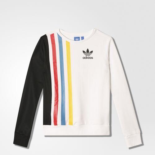 Acquista adidas trefoil sweatshirt mens spedizione gratuita