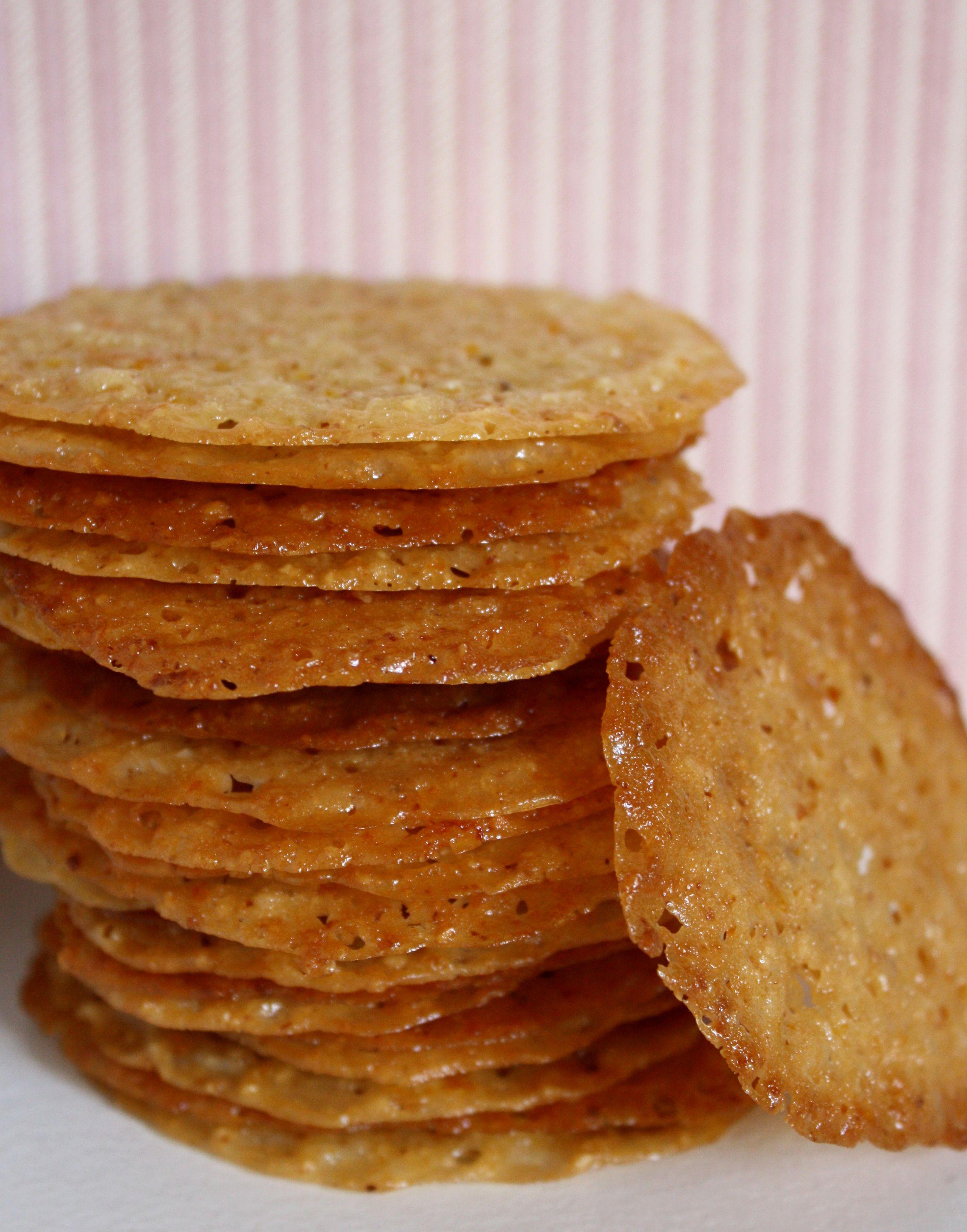 almond-orange lace cookies