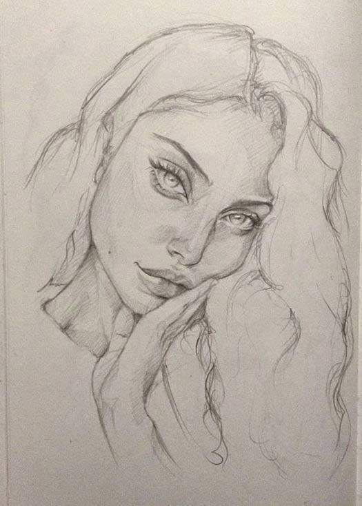 60 Most Beautiful Creative Drawing Ideas In 2020 Sketches Girl