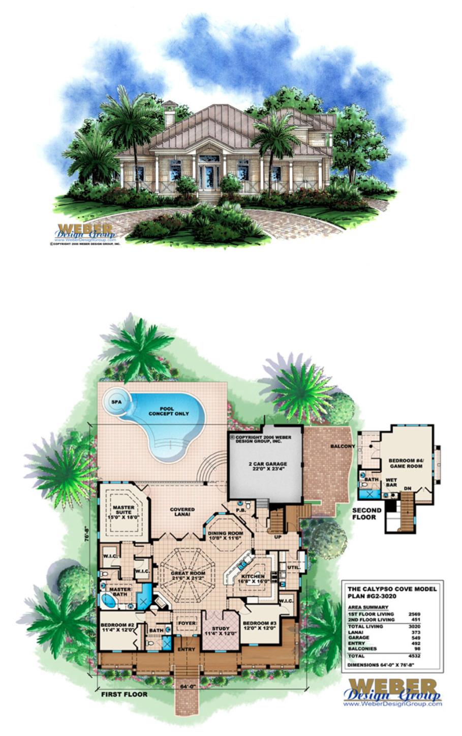 Beach House Plan Old Florida Style Open Layout Covered Lanai Pool Beach House Plans Beach House Plan House Plans