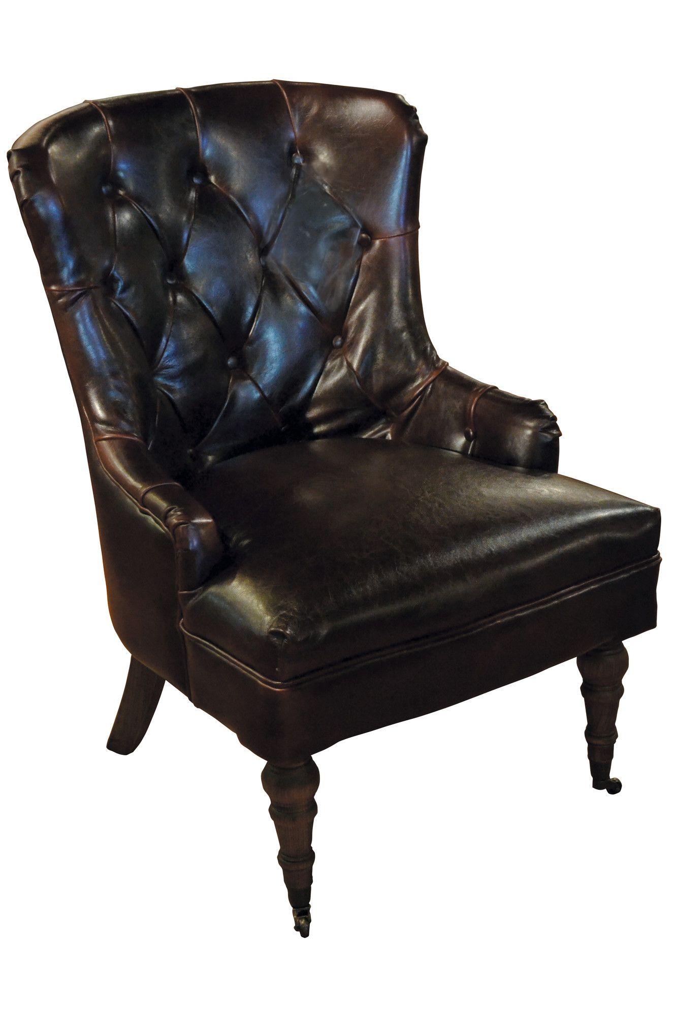Best Furniture Classics Ltd Tufted Leather Chair Wayfair 640 x 480