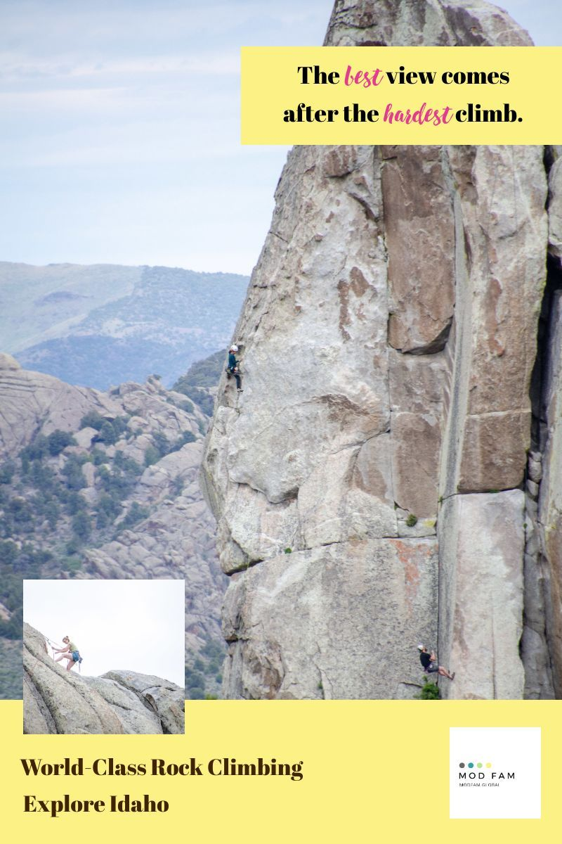 Rock Climbing In Idaho National Parks City Of Rocks National Reserve In 2020 North American Travel American Travel Travel Usa