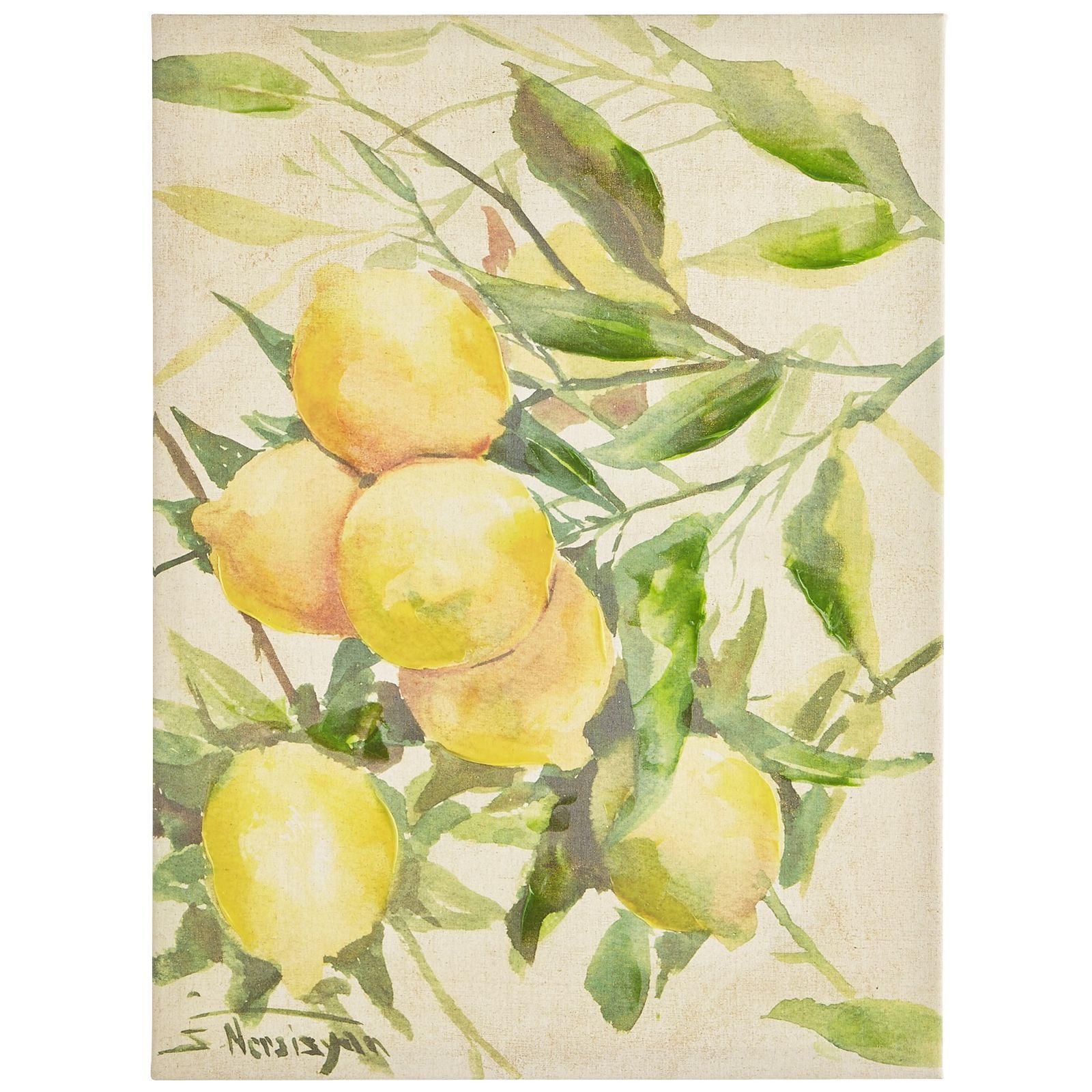 Lemons Art | Decor / Home Goods | Pinterest | Lemon art, Unique wall ...