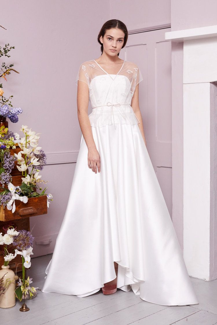 Coppin top oliver corset ellie high low skirt wedding