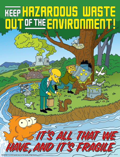 The Simpsons Safety Posters Safety posters, Save