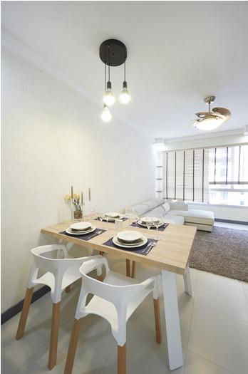 Minimalist Hdb Design: Apartment Interior, Minimalist