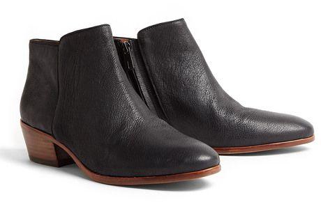 4d095f02f56e7 Sam Edelman Black Petty Ankle Boots in Black - Lyst