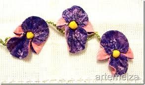 Resultado de imagem para pintura em tecido flores em orquidea