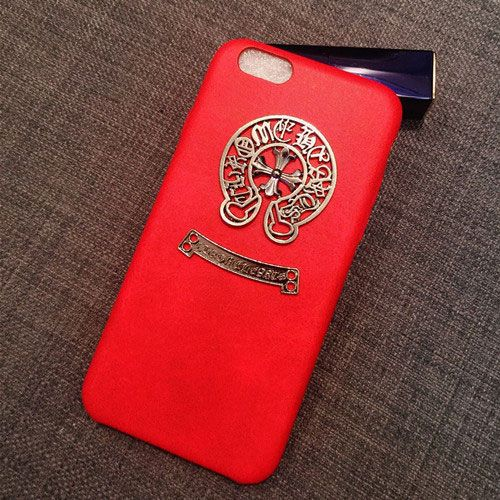Chrome Hearts Iphone 6 Plus Case Leather Red