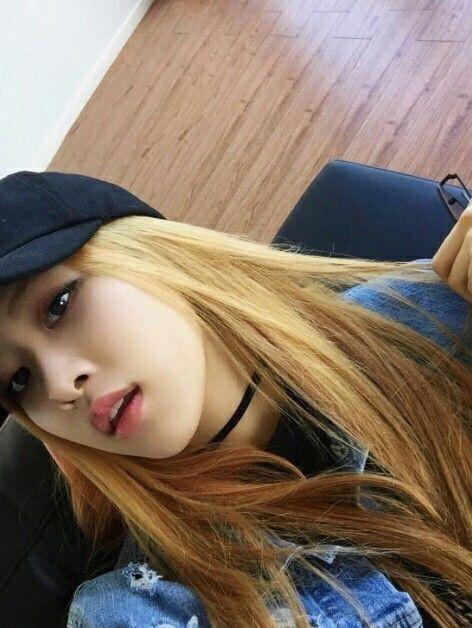Rose Blackpink Kpop Idols Pinterest Blackpink Rose Park And