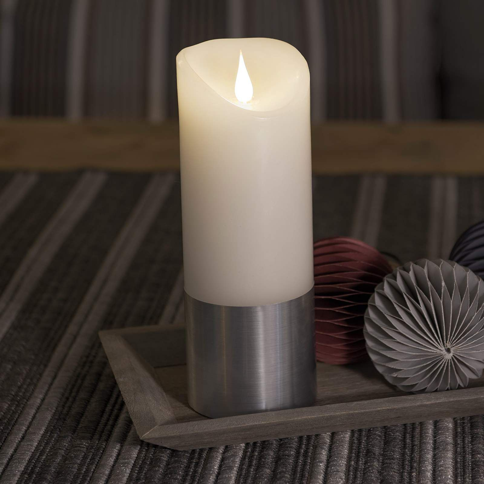 Led Kerze Kerze Von Konstmide Christmas Weiss Led Kerzen Led Kerzen