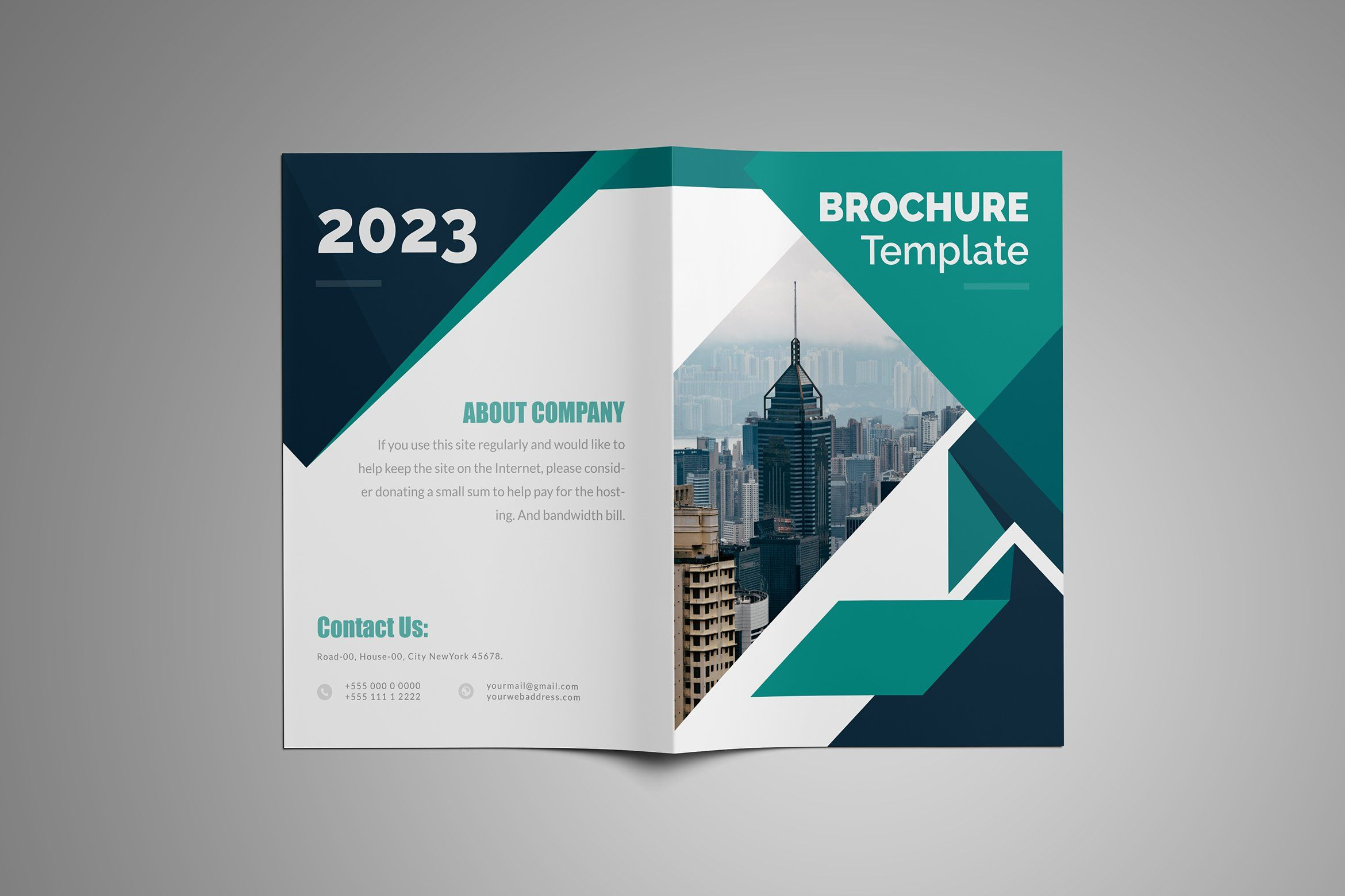 Pin On 16 Page Brochure Design