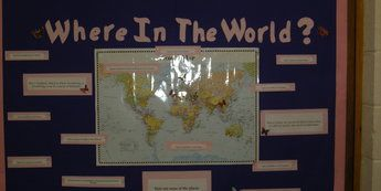 Where in the world display classroom display class display where in the world display classroom display class display geography places gumiabroncs Gallery