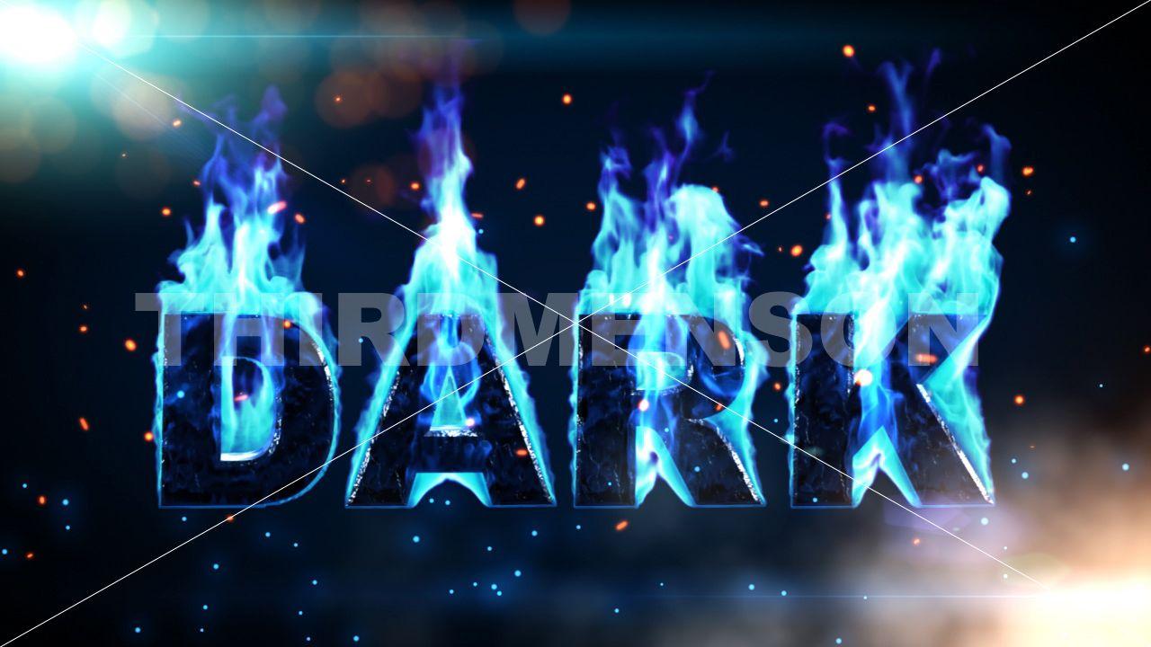 blue fire font Google Search Fire font