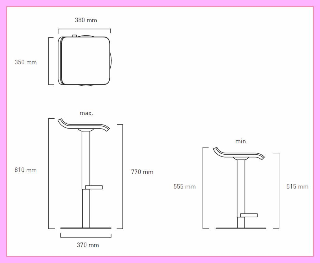 8 reference of bar chair height mm in 8  Bar chairs, Chairs