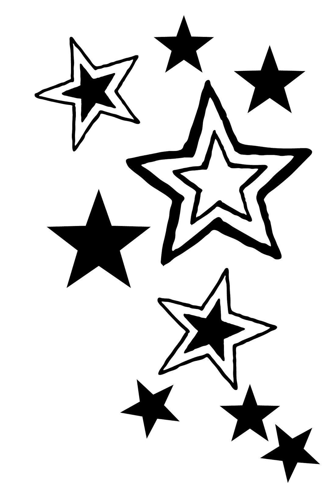 Stencils stars 5