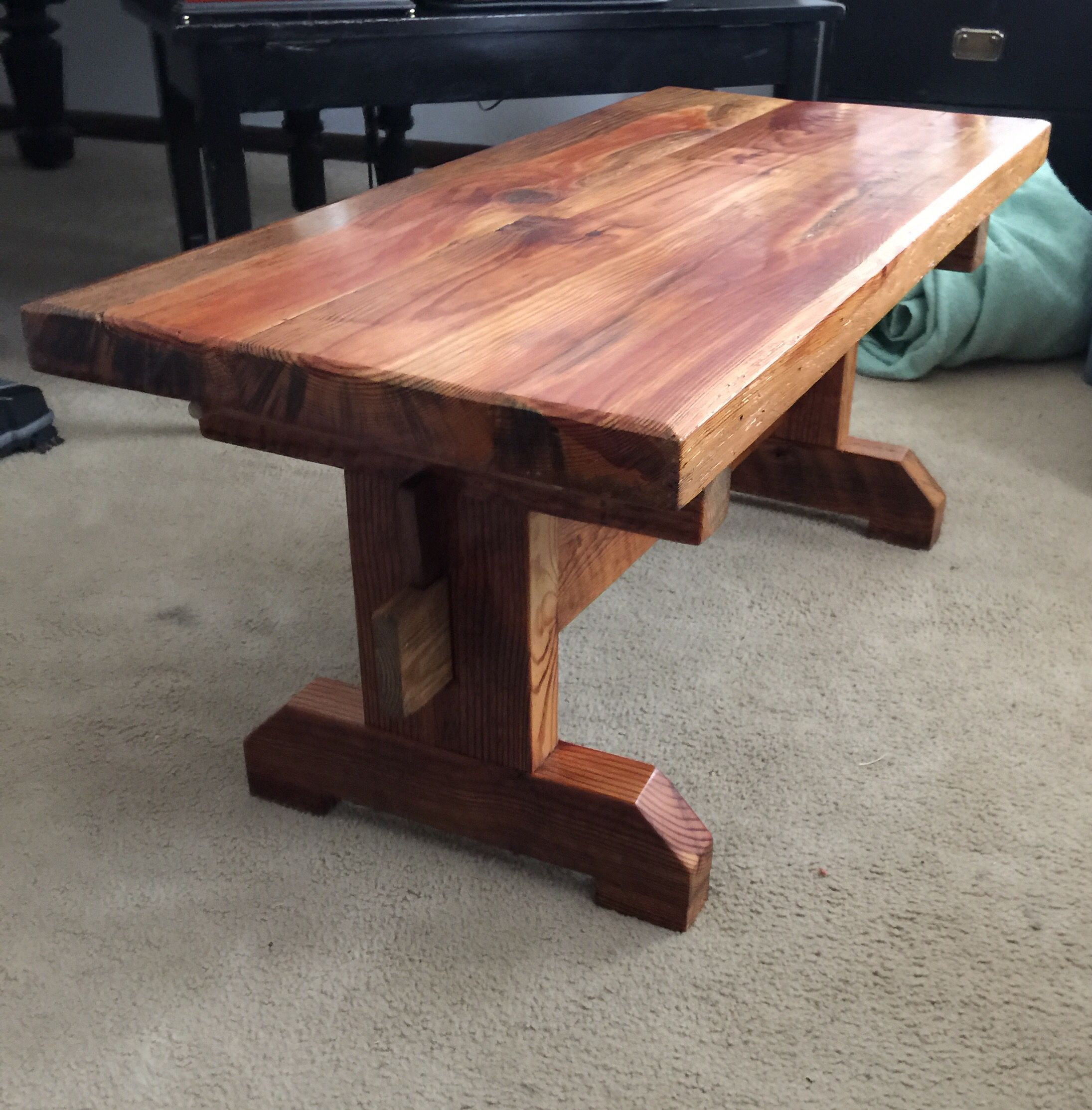 Southern State Rustic Furniture Accessories: Reclaimed 110 Yr Old Southern Pine From Va. In 2019