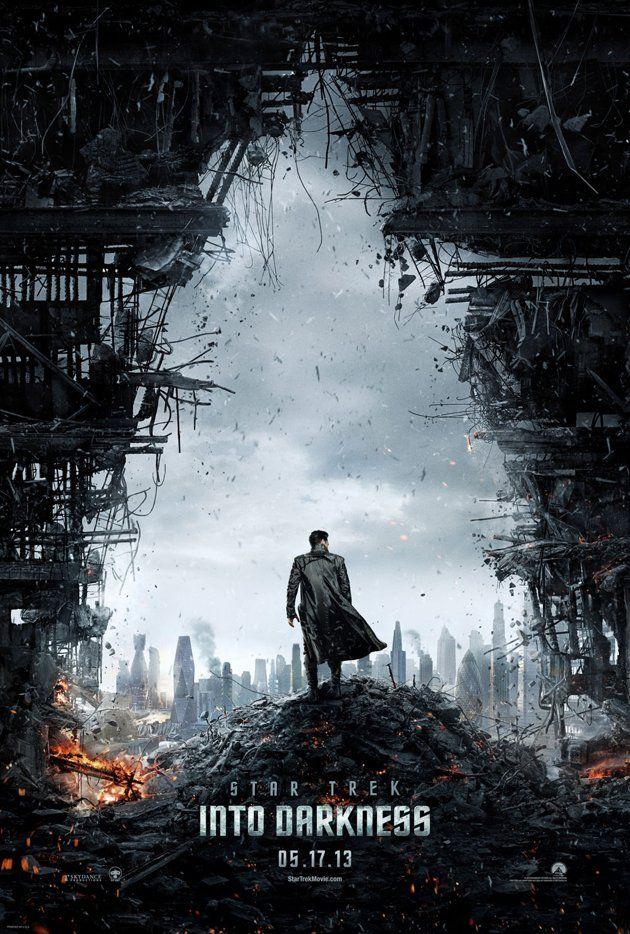 """Star Trek: Into Darkness"" #Movies #Film #Posters"