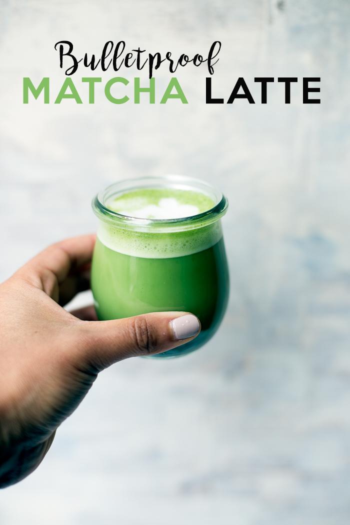 bulletproof matcha latte rezept getr nke und smothie pinterest matcha matcha rezepte. Black Bedroom Furniture Sets. Home Design Ideas