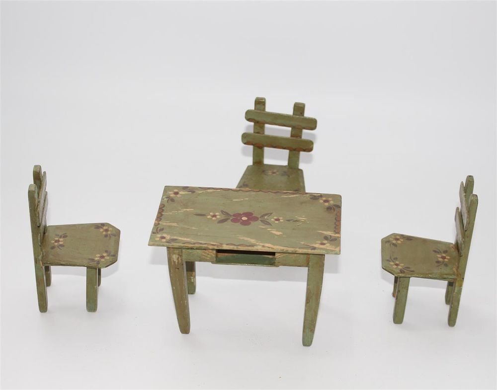 Küchenstühle Roller ~ Details zu alter tisch stühle bauernmöbel bauernmalerei für
