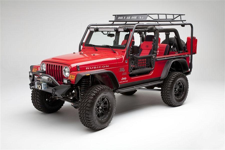 Body Armor 4x4 Jeep Wrangler Tjl Roof Rack Base Unit Jeep Tj Jeep Roof Rack