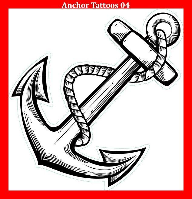 Anchor Tattoos 04 | Anker tattoo design, Anker ...