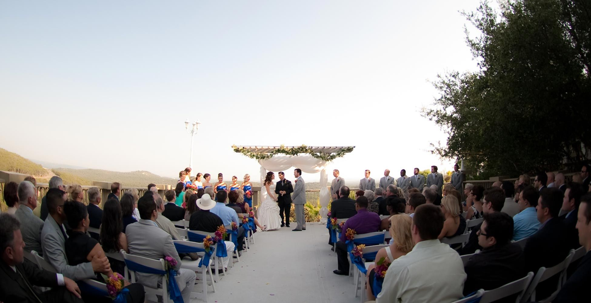 Lakeview terrace best wedding venue in central texas