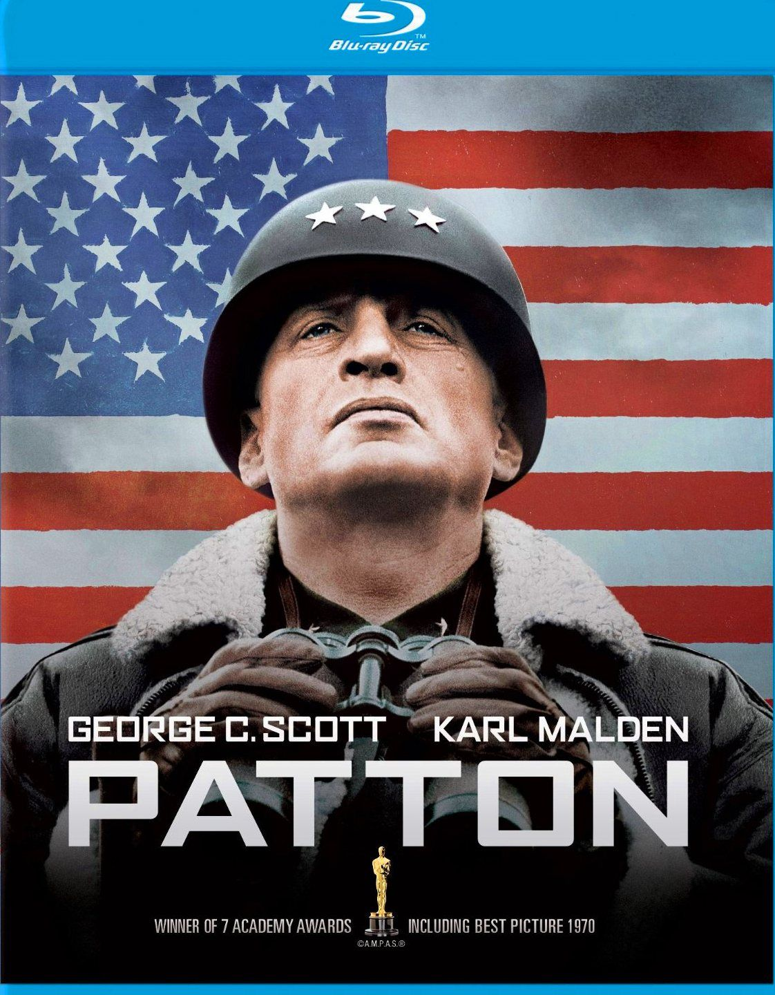 George C. Scott...PATTON movie poster